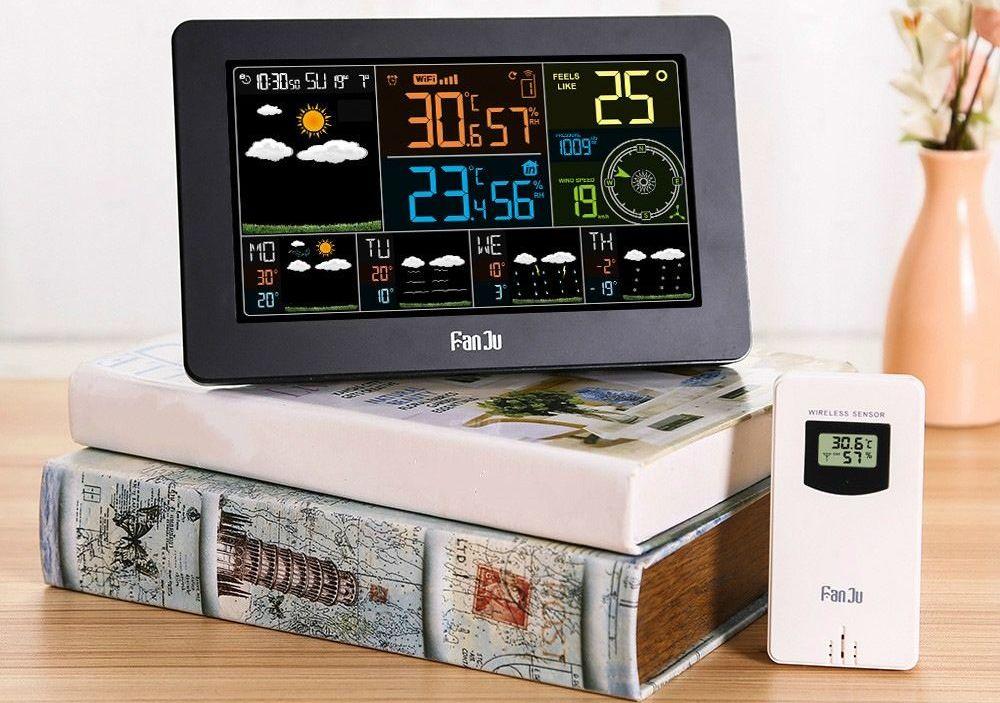 La FanJu FJW4 est une station météo dotée des fonctions météorologiques les plus complètes et les plus précises. On a également un contrôle via une application