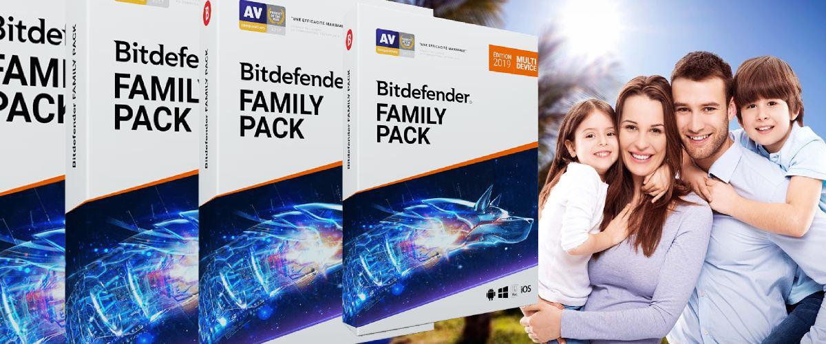 Bitdefender Family Pack 2019 est-il l'arme ultime contre les menaces en ligne et les violations de la vie privée ? Découvrez-le dans notre test !